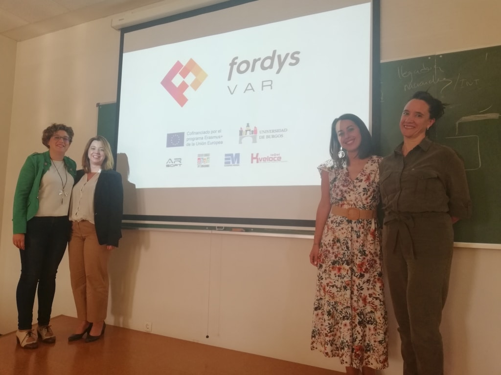 The European FORDYSVAR project was presented at the XXVII University Conference on Educational Technology