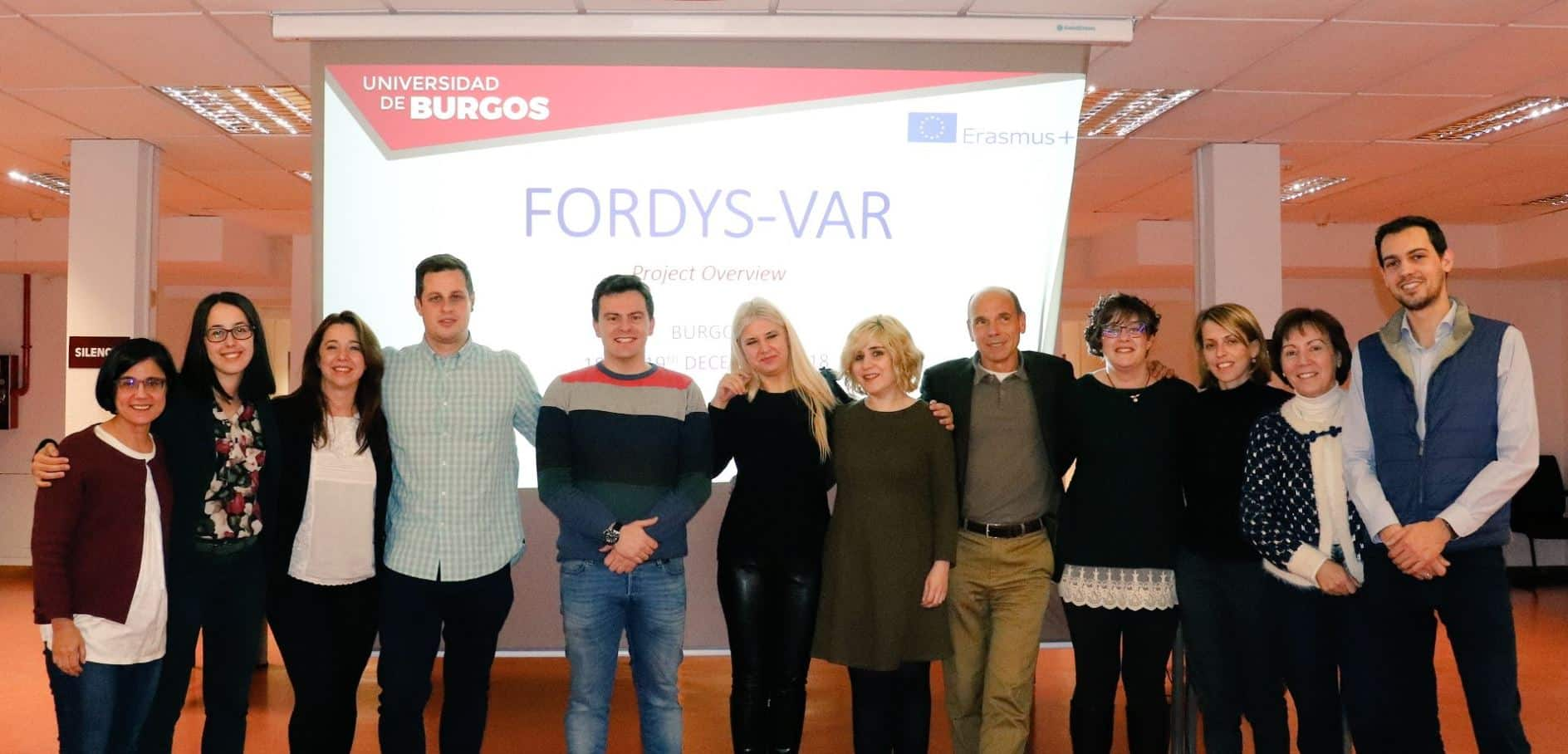 First meeting (Kick - off Meeting) of the European project FORDYSVAR.